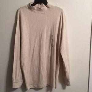John Ashford Jersey Sweater NWT size XXL